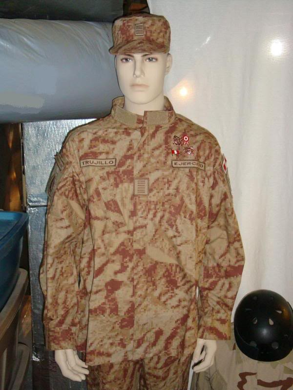DESERT digital camouflage uniform 003-2