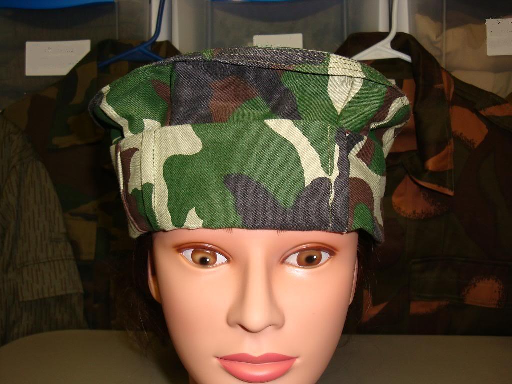 AFGHAN SPECIAL FORCES used 3 COLOUR uniform AFGHANPAKOL1A
