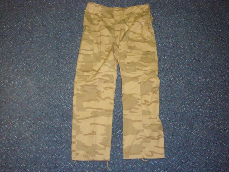 DESERT camouflage uniform BELGIUMDESERT1D