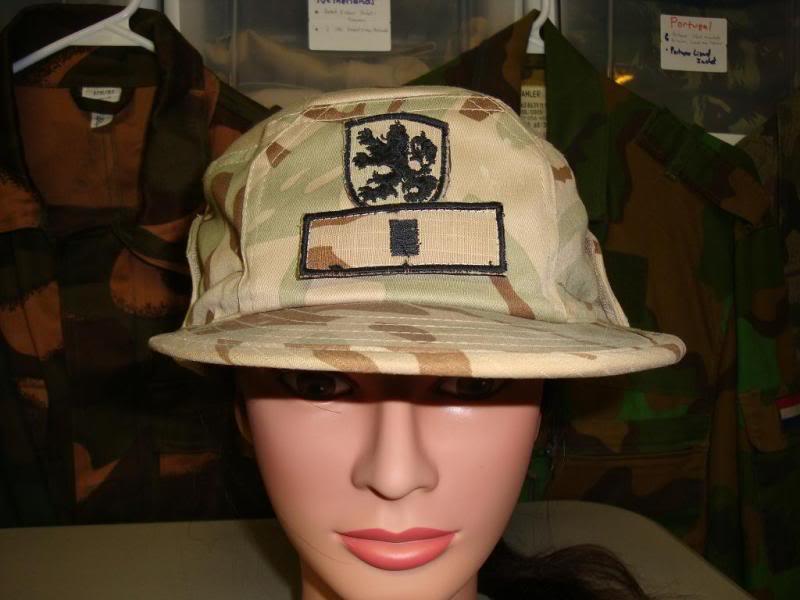 BULGARIAN desert camouflage uniform BULGARIADESERTHAT1A