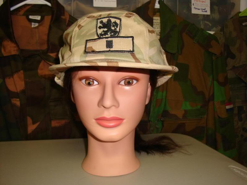 BULGARIAN desert camouflage uniform BULGARIADESERTHAT1C