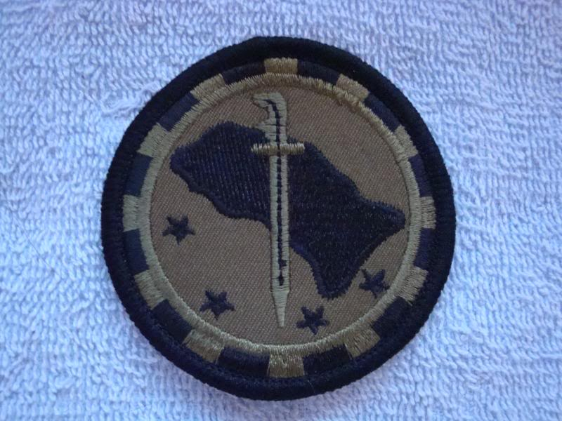 12TH BRIGADE IV ARMY DIVISION patch COLUMBIA