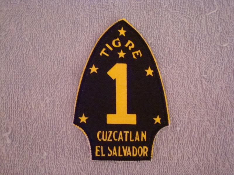 EL SALVADORAN PATCHES picked up at the SHOW OF SHOWS ELSALVADORPATCH4