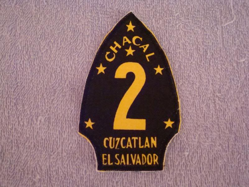 EL SALVADORAN PATCHES picked up at the SHOW OF SHOWS ELSALVADORPATCH5
