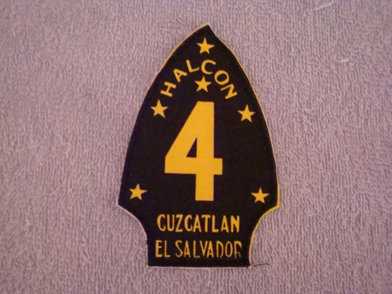 EL SALVADORAN PATCHES picked up at the SHOW OF SHOWS ELSALVADORPATCH7