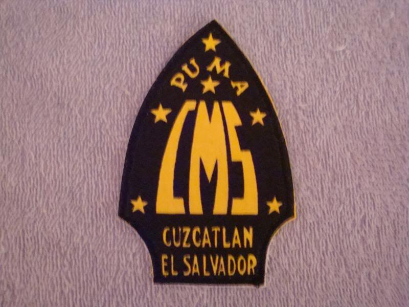 EL SALVADORAN PATCHES picked up at the SHOW OF SHOWS ELSALVADORPATCH8