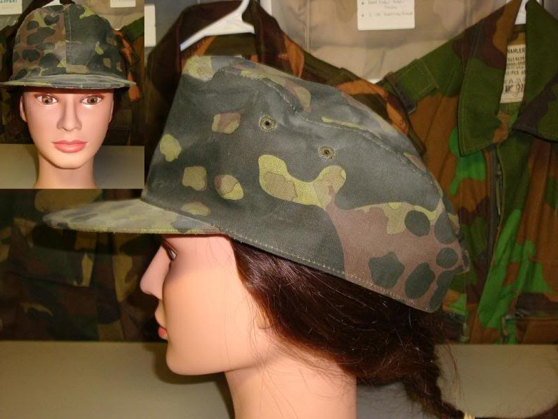 Reproduction Fallschirmjager helmet & 44 dot camouflage cover & some repro items GERMANYCAP4A