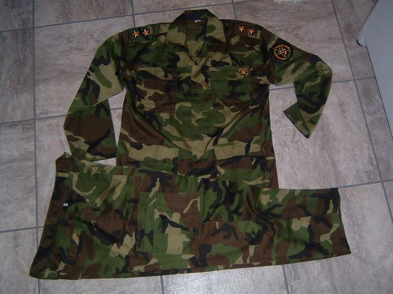 WOODLAND CAMOUFLAGE uniform IRANCOMMANDO1