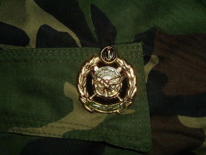 WOODLAND CAMOUFLAGE uniform IRANCOMMANDO2