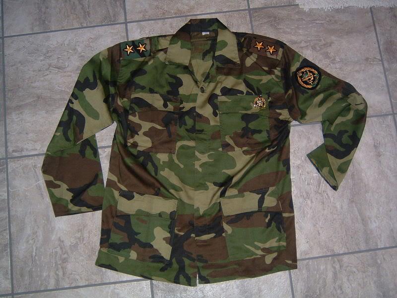 WOODLAND CAMOUFLAGE uniform IRANCOMMANDO5