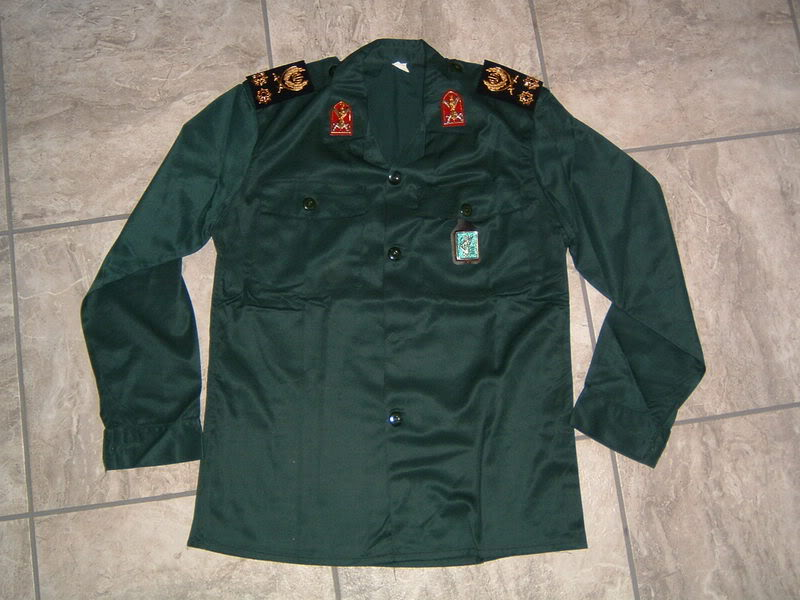 SEPAH PASDARAN OR REVOLUTIONARY GUARD OFFICER'S uniform IRANREVGUARDS2