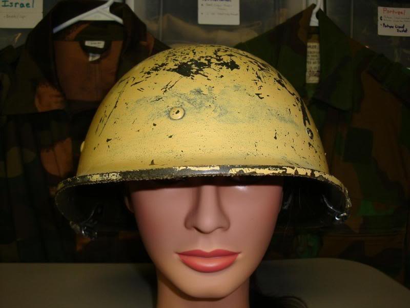 my 2 Iraqi helmets IRAQHELMET1A