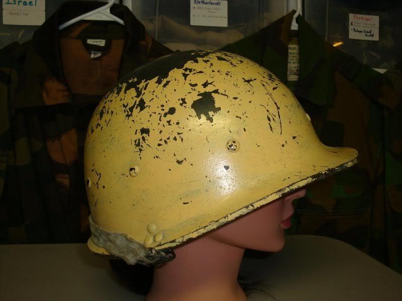 my 2 Iraqi helmets IRAQHELMET1B