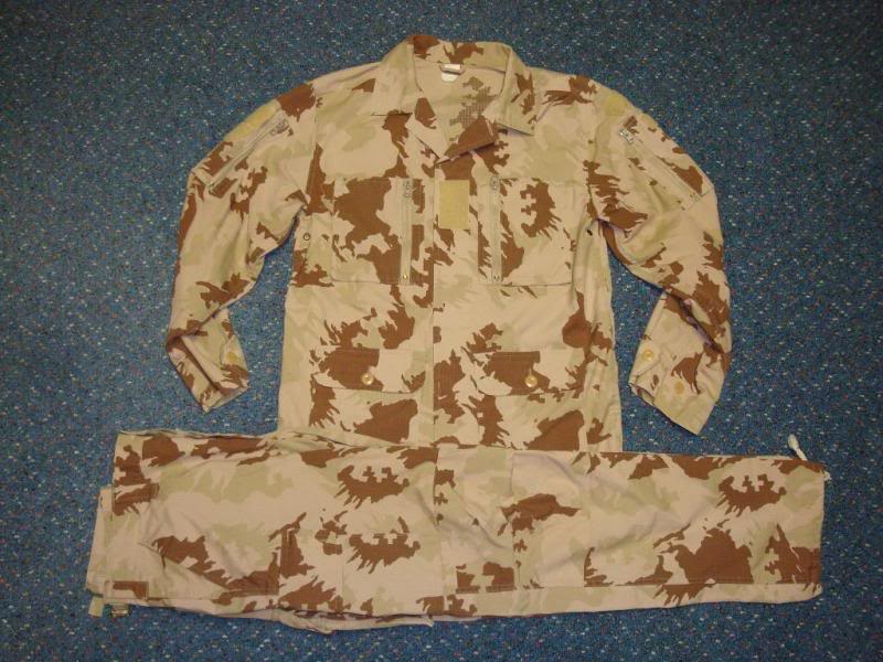 LITHUANIAN DESERT CAMOUFLAGES LITHUANIADESERTSET1A