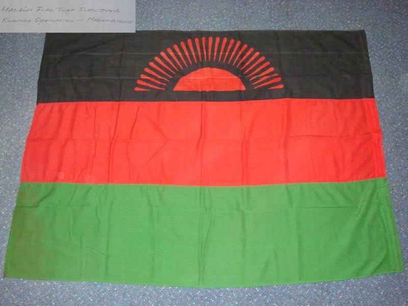 Malawian Flag MALAWIFLAG1A