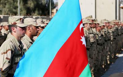 AZERBAIJAN military photos (REFERENCE) Soldierswiththe1stAzerbaijaniPeacek