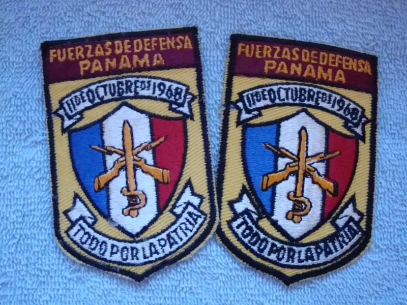 PANAMANIAN DEFENSE FORCES patches PANAMA