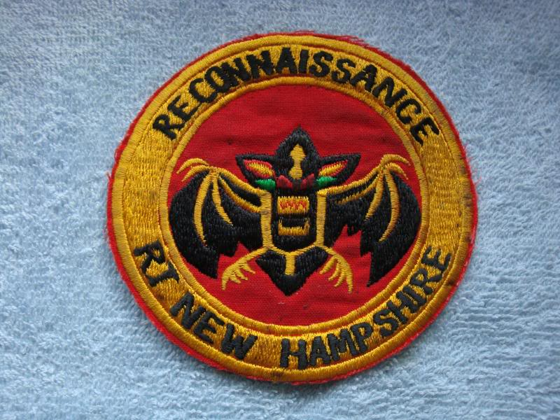 Vietnam War - RECON TEAM PATCHES 001-2