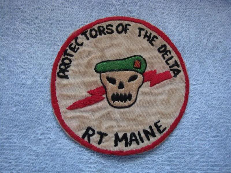 Vietnam War - RECON TEAM PATCHES 003