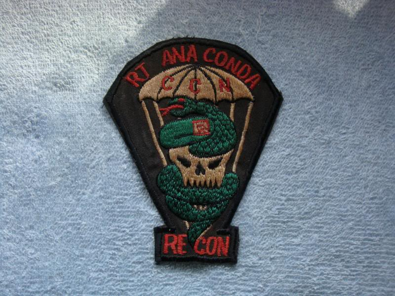 Vietnam War - RECON TEAM PATCHES 005-1