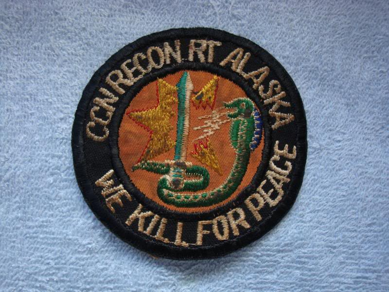 Vietnam War - RECON TEAM PATCHES 005
