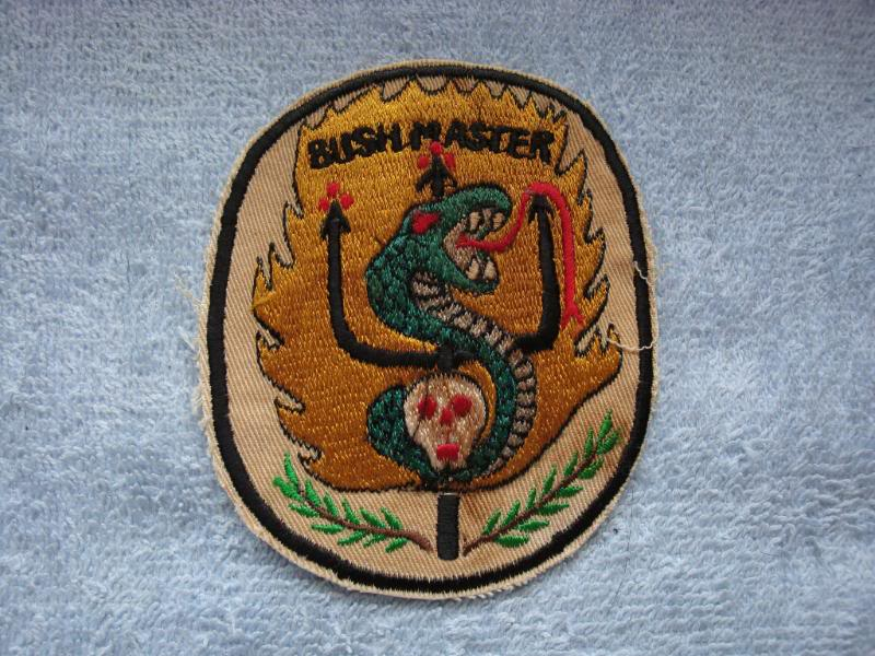 Vietnam War - RECON TEAM PATCHES Rtbushmaster1