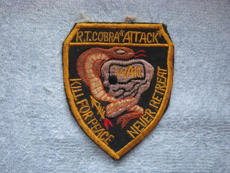 Vietnam War - RECON TEAM PATCHES Rtcobra