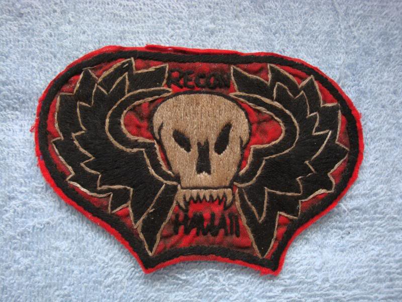 Vietnam War - RECON TEAM PATCHES Rthawaii1