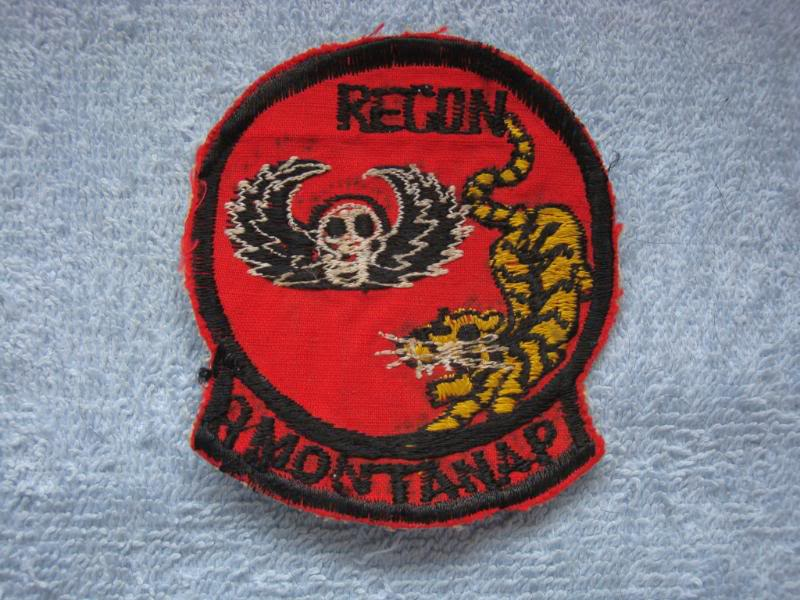 Vietnam War - RECON TEAM PATCHES Rtmontana1