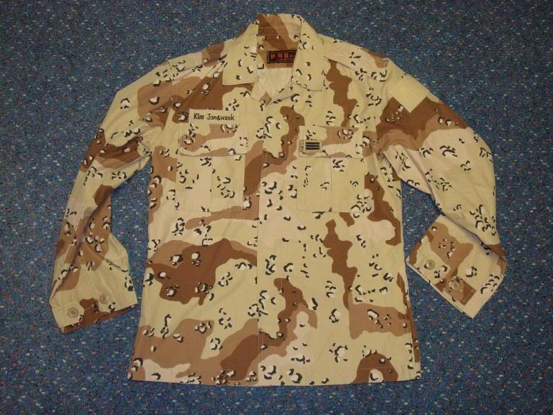 6 colour desert camouflage jacket SK6COLORJACKET1A