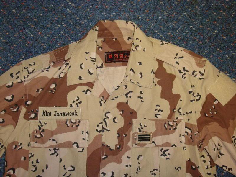 6 colour desert camouflage jacket SK6COLORJACKET1B