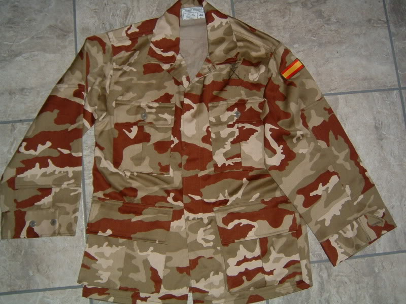 Spanish Marines desert camouflage uniform SPANISHMARINESDESERT1