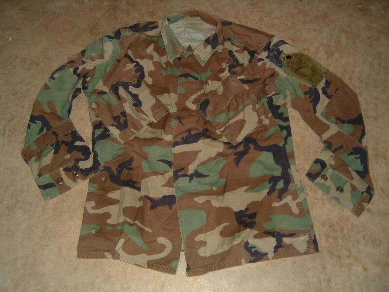 Air Force Para Jumper PJ woodland jacket USPJ2