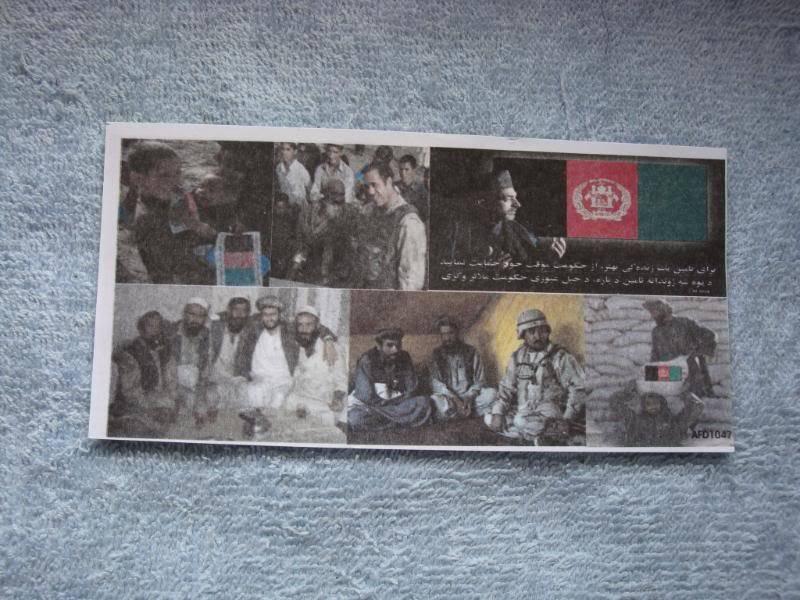 AFGHANISTAN SURRENDER LEAFLETS Afghanleaflet1a