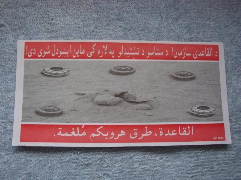 AFGHANISTAN SURRENDER LEAFLETS Afghanleaflet2a