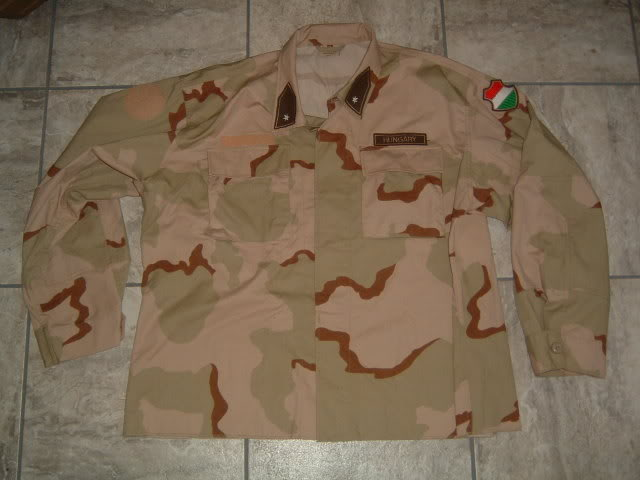 Hungarian 3 colour desert camouflage Hungarian3colourdesert1b