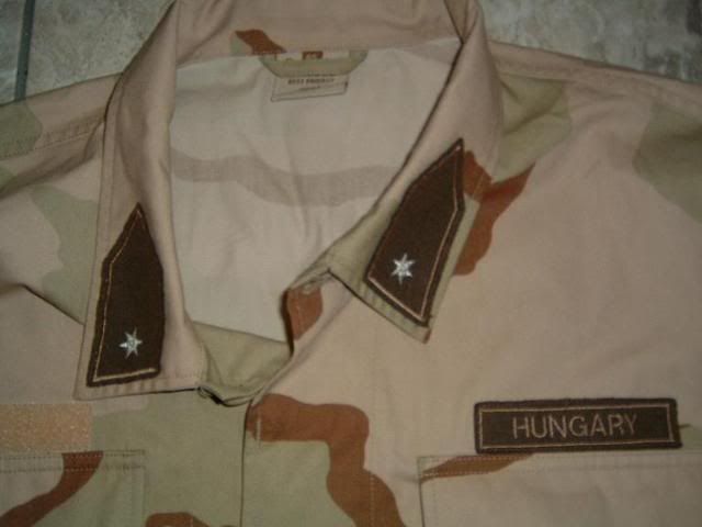 Hungarian 3 colour desert camouflage Hungarian3colourdesert1c