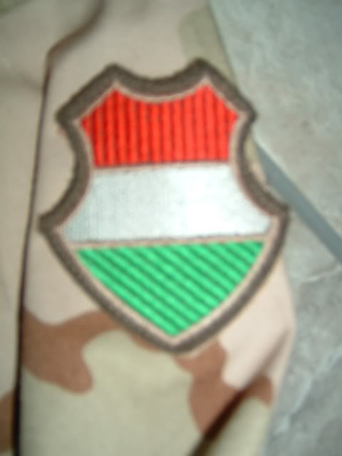 Hungarian 3 colour desert camouflage Hungarian3colourdesert1d