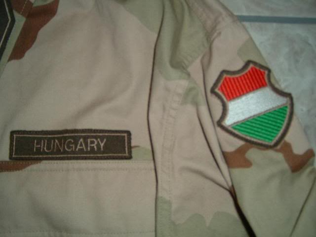 Hungarian 3 colour desert camouflage Hungarian3colourdesert1e