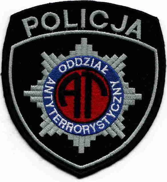 POLAND Anti Terror Patch (originally posted by fiannoglach) Poznanantiterr