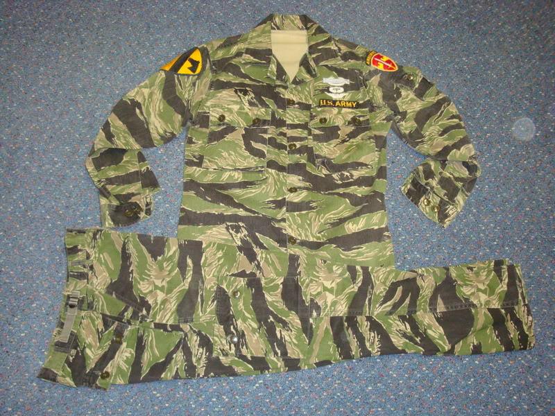 REPRODUCTION tiger stripe uniform Ustigerstripe1a