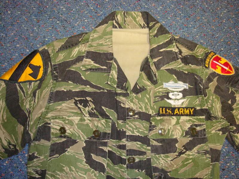 REPRODUCTION tiger stripe uniform Ustigerstripe1b