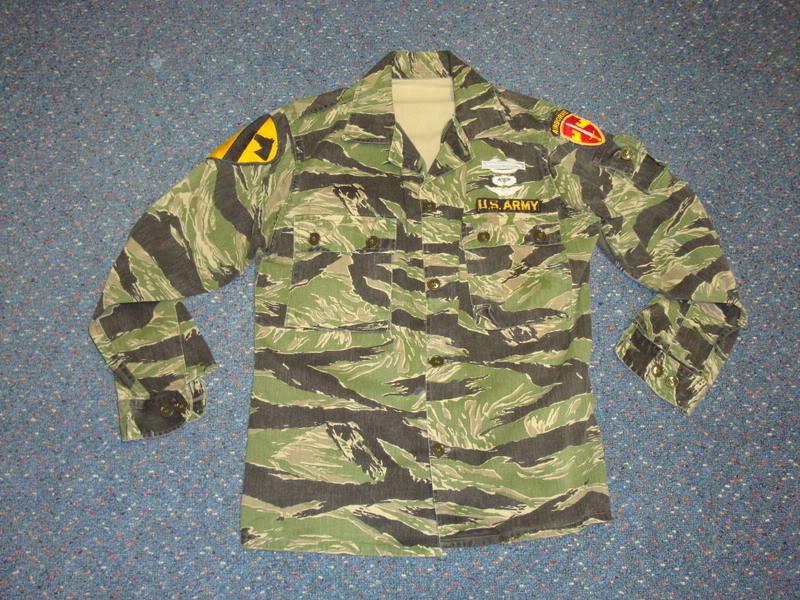 REPRODUCTION tiger stripe uniform Ustigerstripe1c