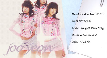 Perfil JooYeon Biks4z