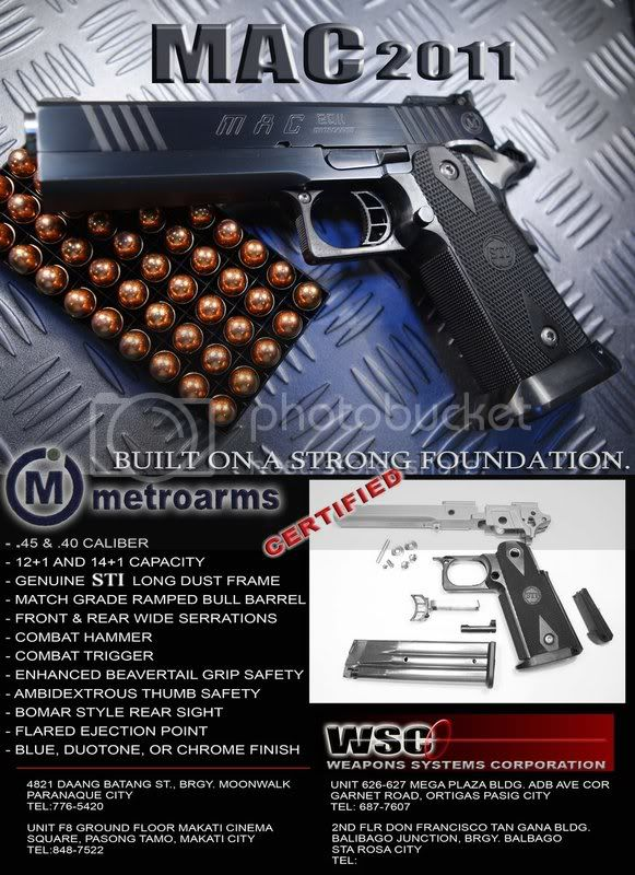 METROARMS' product pictures MAC-2011-strong-foundation