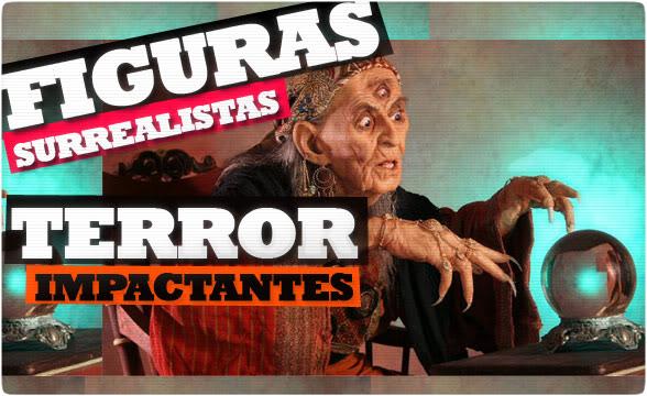 Esculturas de miedo hiperrealistas FIGURASSURREALISTAS