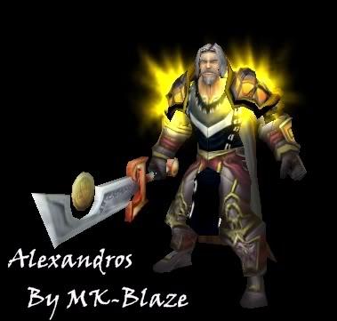 Recopilación de modelos de World of Warcraft para Warcraft III Alexandros