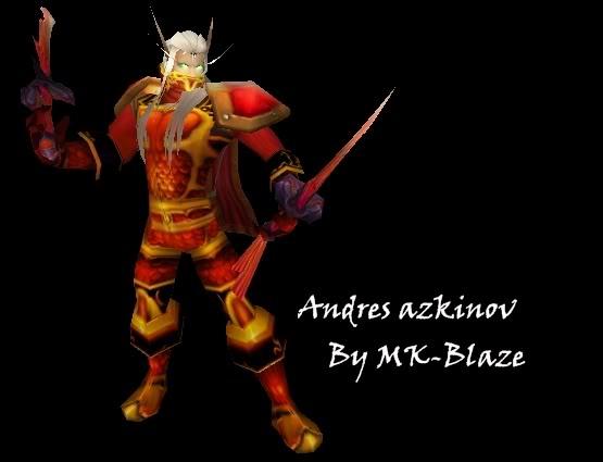 Recopilación de modelos de World of Warcraft para Warcraft III Andresazkinov
