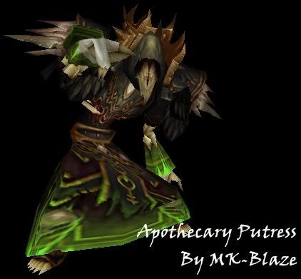 Recopilación de modelos de World of Warcraft para Warcraft III ApothecaryPutress