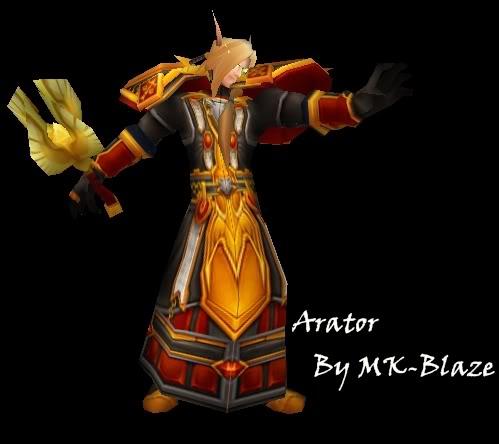Recopilación de modelos de World of Warcraft para Warcraft III Arator